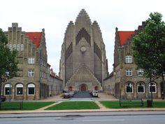 The World's 50 Most Unusual Churches-Grundtvigskirken-Copenhagen Denmark