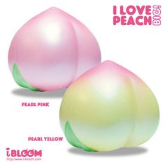 iBloom Super Jumbo I Love Peach Squishy