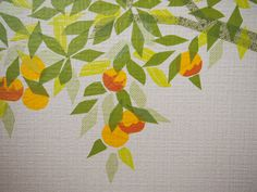 closer look (washi tape orange tree)