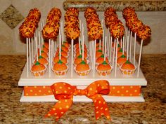 Fun Cake Pop Displays