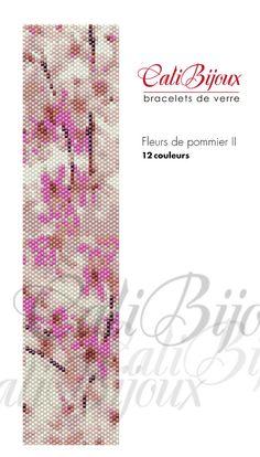 Fleurs+de+pommier+II++PATTERN+by+CALIBIJOUX+on+Etsy,+$10.00