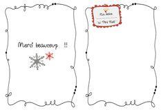 Sur le chemin de l'école: Lettre au Père Noël