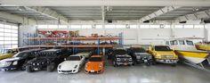 The Star House garage interior design