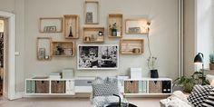 Design your home: 4 pomysły na drewniane skrzynki we wnętrzach