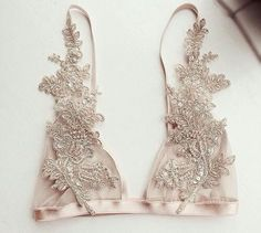 Lingerie of the Week: With Love Lilly Champagne Bralette Belle Lingerie, Lingerie Bonita, Lingerie Plus, Pretty Lingerie, Beautiful Lingerie, Lingerie Latex, Hot Lingerie, Wedding Lingerie, Fashion Design Inspiration