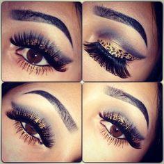#Cheetah +Inspired+Look+Rawr #makeup