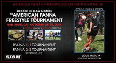 "The American Panna & Freestyle Tournament. Don't miss your chance to meet Louie ""El Matador"" Mata. Join the autograph session with all of our Panna Officials and Freestyle Judges. October 25-26th at the The San Jose Flea Market. #AmericanPanna #AmericanFreestyle #LouieMata #Mata #SISM #USASoccer #ElMatador #Skills #GroundMoves #Futbol #Calle #StreetSoccer #StreetWeapon #Soccer #Panna"