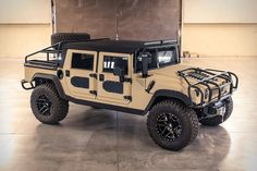 Mil-Spec Hummer Baja SUV Mil-Spec has just completed their second four-door hardtop the Launch Edition Five different body styles are available — a pickup, slantback, wagon, and… Mil-Spec Hummer Baja SUV Hummer H3, Hummer H1 Alpha, Hummer Cars, Hummer Truck, Jeep Truck, Armadura Sci Fi, Police Truck, Offroader, Trucks
