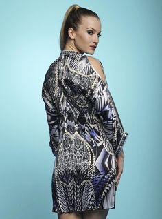 Baccio Shy Silk Mini Dress