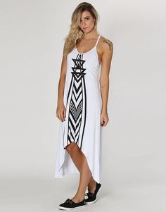 Vestido Billabong Womens Doubt Roupas Femininas Vestidos b50dc2db03ec1