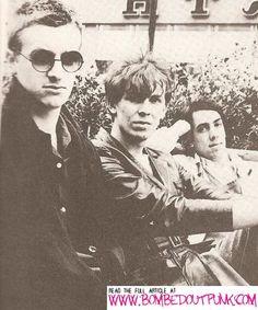 The Teardrop Explodes: Gary Dwyer, Julian Cope and Mick Finkler