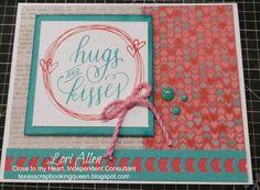 Hugs & Kisses inside Doodling Design stamp set -