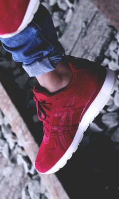 ASICS GT II Suede #sneakers #fashion #asics