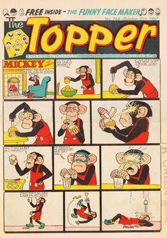 Topper comic & annuals