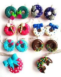 boucle d'oreilles donut