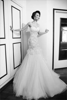 Beautiful Dalia wedding dress! #weddings #weddingdress #bride #weddinggown