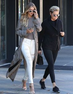 Hadid News || Your best and ultimate source for all things about the Hadid sisters - November 8: Gigi Hadid and Yolanda Foster headed...