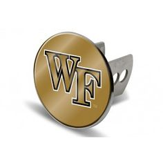 Wake Forest Demon Deacons Laser-etched Trailer Hitch Cover