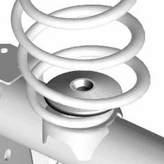 JKS Wrangler JK, 2007-2015, Rear Coil Spring Retainer - Crawltech Offroad