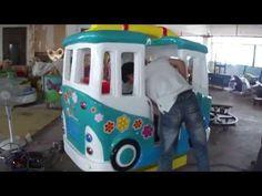Kids Rides swing game machine –happy bus