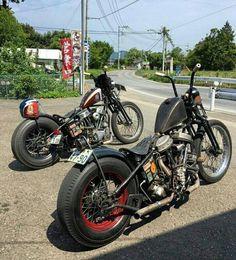 Harley Bobber Chopper #harleydavidsonstreetbobber
