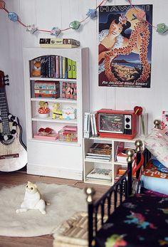 Re-ment miniature bedroom