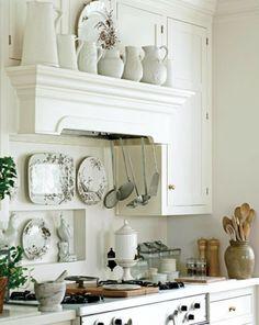 Sweet little #white #kitchen