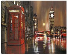 Golden Nights by Paul Kenton Available from Westover Gallery £650