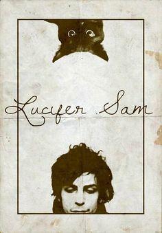 """Pink Floyd - """"Lucifer Sam"""", 1967 (author - Syd Barrett)"""