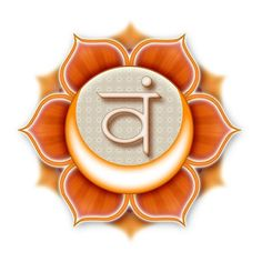 The Six petal lotus represents the sacral chakra. Six is also the number of the hexahedron or earth element.