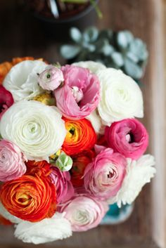 lovely layers of ranunculus
