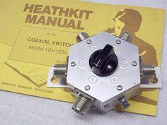 Heathkit HD-1234, Coaxial Switch