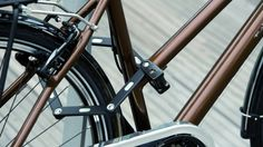 Abus Ecolution folding bike lock is compact and recyclable
