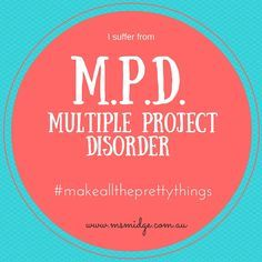 "This week's WIP Wednesday is brought to you by my newly diagnosed ""Multiple Project Disorder"". (Feel free to take my button down below and add it to your repertoire) I'm self-diagnosed, but I'm pretty sure Google would have a definition…… My definition is: Thinking about the projects you have worked on in the past week, and once you start pulling them out, wondering how you have managed to do it? Anyway, here is what I have worked on this past week….. My ... Continue Reading »"
