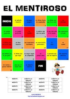 Juego para practicar la comunicación con alumnos de nivel B1-B2. Para jugar se necesita un dado y fichas. Para más información sobre cómo jugar consulta laclas…