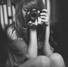 Black And White Camera Girl Photography Inspiring Picture On . Emily Brown - - Black And White Camera Girl Photography Inspiring Picture On . Photography Camera, Girl Photography, White Photography, Photography Lighting, Vintage Photography, Fashion Photography, White Camera, Girls With Cameras, Fabulous Quotes
