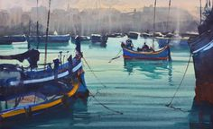 Montevideo, Melbourne, The Beautiful South, South American Countries, Watercolor Water, National School, Malta, Art School, Sailing Ships