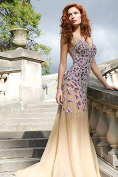 Beaded Jovani pageant gown [ Waterbabiesbikini.com ] #pageant #bikini #elegance