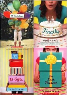 11 birthdays is my favorite book. I read it in fourth grade, I think. I absolutely love it and it's the first book that inspired me to be a writer. Finally and 13 gifts was good but I can't wait to read the last present because it's more about the main characters in 11 birthdays :33  Can't waitttt c: