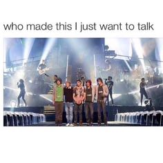 I'm not crying I just have one direction in my eye