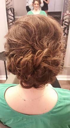 wedding hair, bridesmaid hair, updo, special occasion www.styleseat.com/kaylynnhosch