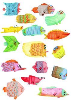 Rainbow fishies~