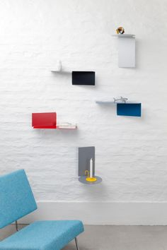 Plateau: Adaptable Wall Shelves by Felix Klingmüller for ECHTSTAHL in main home furnishings  Category