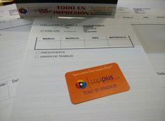 Talonarios totalmente personalizados para tu negocio, con una o dos copias y varios tamaños. #queremosImpresionArte