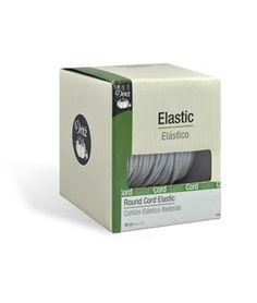 Dritz White Round Cord Elastic - 50 Yards - $23.8 | onlinefabricstore.net