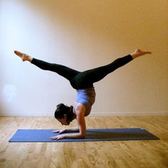 Yogini! It's a list of the most fun and challenging poses for a bucket list, but for you it could be like a next month list.
