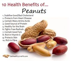 The Health Benefits of Peanuts   Eating Healthy & Living Fit   EatHealthyLiveFit.com