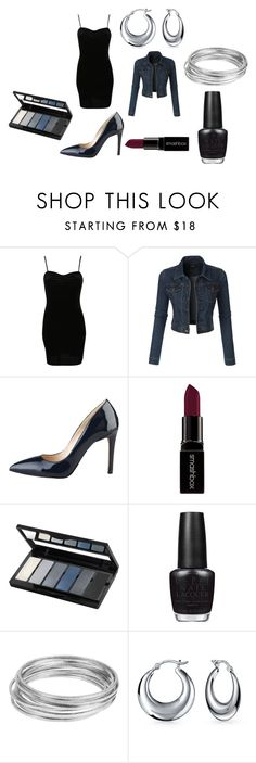 """""""Party Ready"""" by ella-kotok ❤ liked on Polyvore featuring Pilot, LE3NO, Smashbox, Isadora, OPI, Worthington, Bling Jewelry, women's clothing, women and female"""
