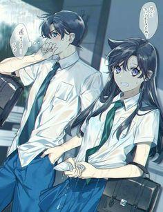 Was ist Shin? Detective Conan Ran, Detective Conan Shinichi, Ran And Shinichi, Kudo Shinichi, Anime Guys, Manga Anime, Anime Art, Magic Kaito, Detektif Conan