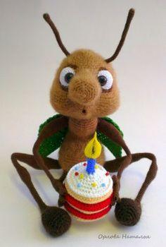 Жучок - Вязаные ребетёнки - Галерея - Форум почитателей амигуруми (вязаной игрушки)